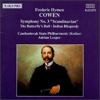Cowen: Symphony No. 3 - Czecho-Slovak State Philharmonic Orchestra (Kosice); Adrian Leaper (conductor)