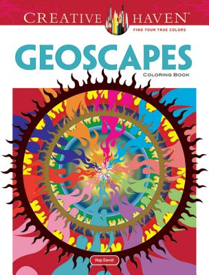 Creative Haven Geoscapes Coloring Book - David, Hop