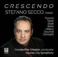 Crescendo - Andrius Bernotaitis (clarinet); Stefano Secco (tenor); Kaunas State Choir of Lithuania (choir, chorus);...