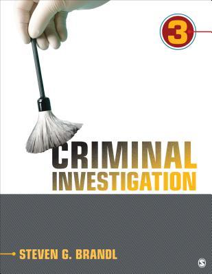 Criminal Investigation - Brandl, Steven G