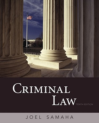 Criminal Law - Samaha, Joel