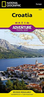 Croatia-Adventuremap (Adventure Travel Map) (Adventuremaps) - National Geographic