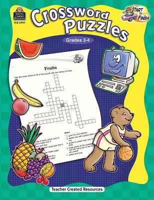 Crossword Puzzles, Grades 3-4 - Levin, Michael H, M.a