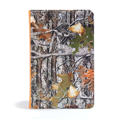 CSB Sportsman's Bible: Large Print Personal Size Edition, Mothwing Camouflage Leathertouch - Csb Bibles by Holman