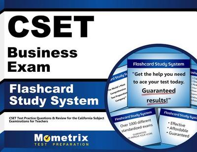 Cset Business Exam Flashcard Study System: Cset Test Practice Questions & Review for the California Subject Examinations for Teachers - Editor-Cset Exam Secrets