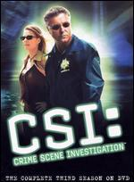 CSI: Crime Scene Investigation: Season 03