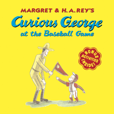 Curious George at the Baseball Game - Rey, H A