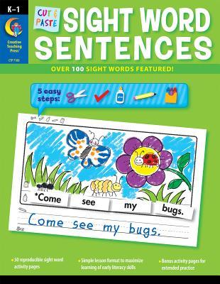 Cut & Paste Sight Words Sentences - Williams, Rozanne Lanczak