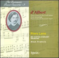 d'Albert: Piano Concertos - Piers Lane (piano); BBC Scottish Symphony Orchestra; Alun Francis (conductor)