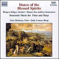Dance of the Blessed Spirits - Judy Loman (harp); Nora Shulman (flute)