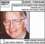 Daniel Pinkham: Serenades for Solos Trumpet & Wind Ensembles; Symphonies No. 3 & 4, etc.