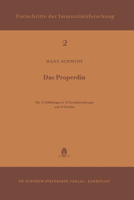 Das Properdin - Schmidt, H