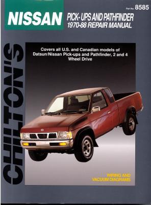 Datsun/Nissan Pick-Up Trucks 1970-88 - Chilton Automotive Books, and Chilton