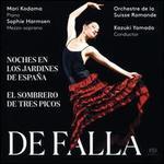 De Falla: Noches en los Jardines de España; El Sombrero de Tres Picos