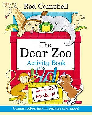 Dear Zoo Activity Book - Campbell, Rod