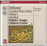 Debussy: Complete Piano Music, Vol. 1