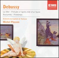 Debussy: La Mer; Prélude à l'après-midi d'un faune; Nocturnes; Printemps - François Laurent (flute); Martine Laure (piano); Philippe Alègre (piano); Orchestre National du Capitole de Toulouse;...