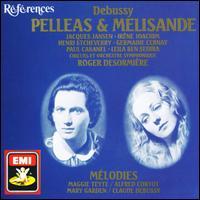 Debussy: Pelleas et Melisande - Alfred Cortot (piano); Armand Narcon (bass); Claude Debussy (piano); Emile Rousseau (bass); Germaine Cernay (mezzo-soprano); Henri Etcheverry (baritone); Irene Joachim (soprano); Jacques Jansen (baritone); Leila Ben Sedira (soprano)