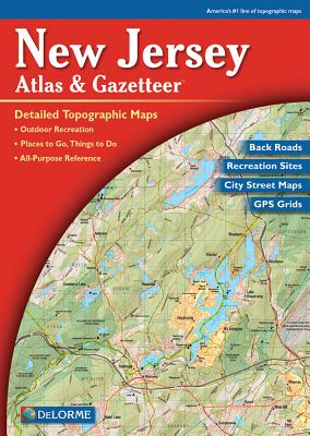 Delorme New Jersey Atlas & Gazetteer - Rand McNally, and Delorme Publishing Company, and Delorme Mapping Company