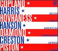 Delos Great American Composers Series [Box Set] - Carol Rosenberger (piano); Charles Butler (trumpet); James Earl Jones (speech/speaker/speaking part); Jean Dane (viola);...