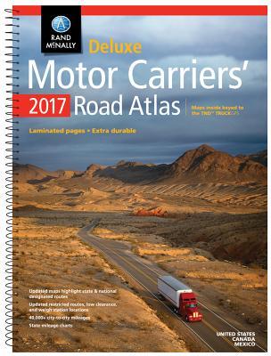 Deluxe Motor Carriers' Road Atlas - Rand McNally (Creator)