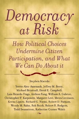 Democracy at Risk: How Political Choices Undermine Citizen Participation and What We Can Do about It - Macedo, Stephen