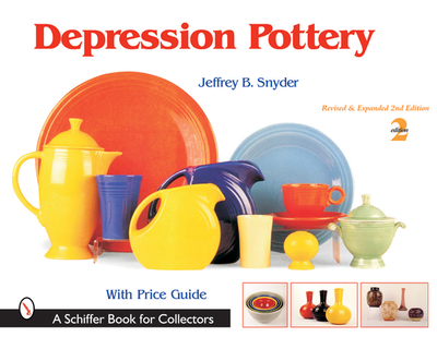 Depression Pottery - Snyder, Jeffrey B