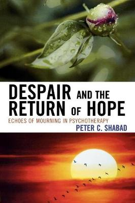 Despair and the Return of Hope: Echoes of Mourning in Psychotherapy - Shabad, Peter