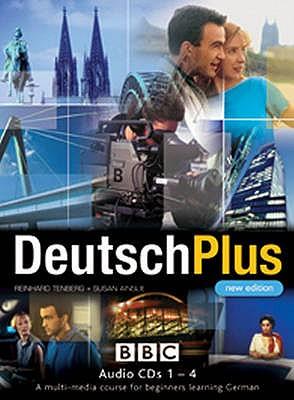 DEUTSCH PLUS 1 (NEW EDITION) CD's 1-4 - Tenberg, Reinhard, and Ainslie, Susan