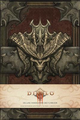 Diablo III: Hardcover Blank Sketchbook - Blizzard Entertainment
