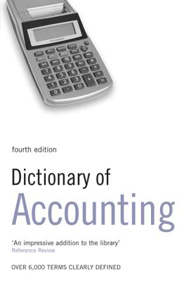 Dictionary of Accounting - Collin, S M H