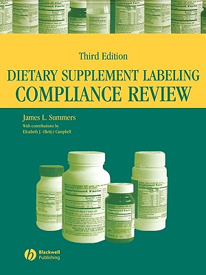 Dietary Supplement Labeling Compliance Review - Summers, James L