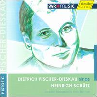 Dietrich Fischer-Dieskau sings Heinrich Schütz - August Messthaler (bass); Bertha Krimm (violin); Elise Göhrum-Jennewein (violin); Gert Fränkel (trombone);...
