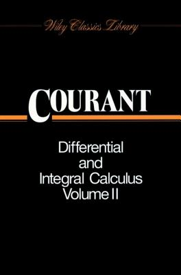 Differential and Integral Calculus - Courant, Richard