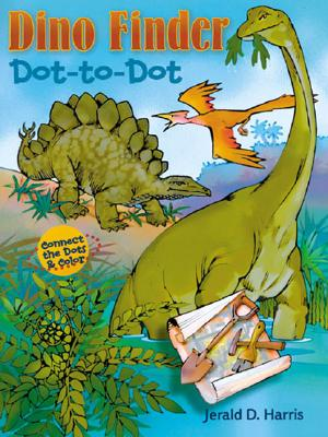 Dino Finder Dot-To-Dot - Harris, Jerald D