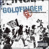 Disconnection Notice - Goldfinger