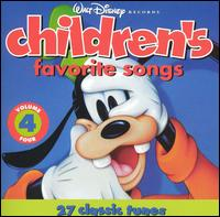 Disney Children's Favorites Songs, Vol. 4 - Disney