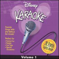 Disney Karaoke, Vol. 1 - Karaoke