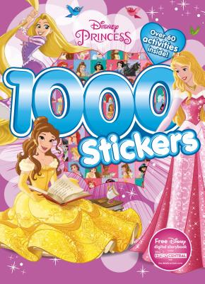 Disney Princess 1000 Stickers: Over 60 Activities Inside! - Parragon Books Ltd