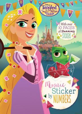 Disney Tangled the Series: Mosaic Sticker by Numbers - Parragon Books Ltd