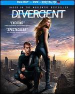 Divergent [2 Discs] [Includes Digital Copy] [UltraViolet] [Blu-ray/DVD] - Neil Burger