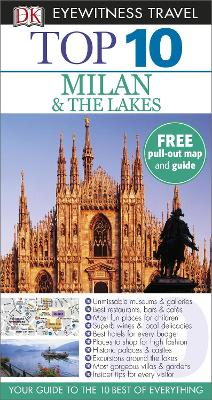 DK Eyewitness Top 10 Travel Guide: Milan & the Lakes - Bramblett, Reid