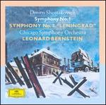"Dmitri Shostakovich: Symphony No. 1; Symphony No. 7 ""Leningrad"""