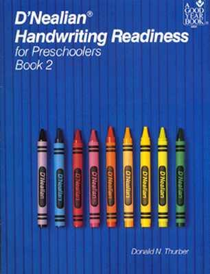 D'Nealian Handwriting Readiness for Preschoolers Book 2 - Thurber, Donald N
