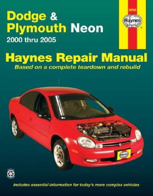Dodge & Plymouth Neon 2000 Thru 2005 - Freund, Ken