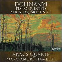 Dohnányi: Piano Quintets; String Quartet No. 2 - Marc-André Hamelin (piano); Takács String Quartet