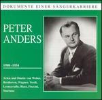 Dokumente einer Sängerkarriere: Peter Anders