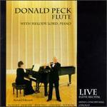 Donald Peck, Flute... - Donald Peck (flute); Melody Lord (piano)