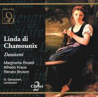 Donizetti: Linda Di Chamounix - Alfredo Kraus (tenor); Carlo Cava (vocals); Elena Zilio (vocals); Enzo Dara (vocals); Margherita Rinaldi (vocals);...