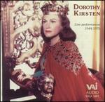 Dorothy Kirsten: Live Performances 1944-1975